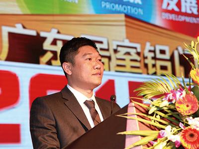 省门协铝门窗专委会会长、派雅门窗董事长李钧洪