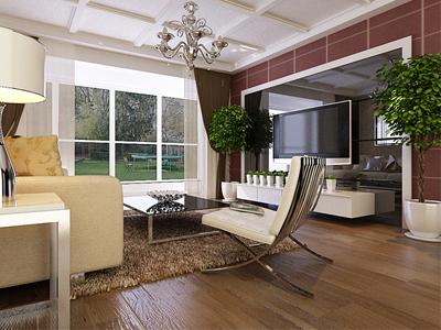 二居室现代风格