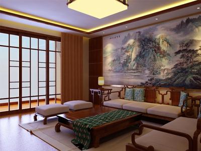 一百平米中式风格居室